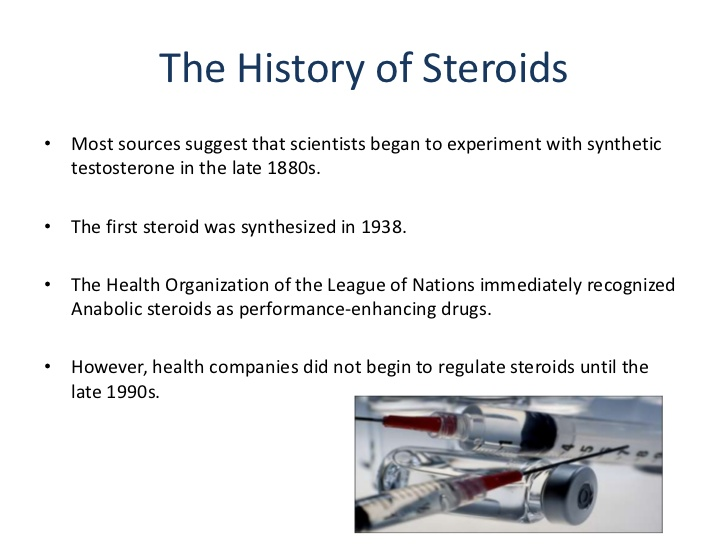Anabolic Steroids Pros History