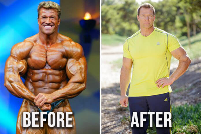 Before and After Steroid Cycle picture