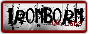 iron born UG labs shop logo